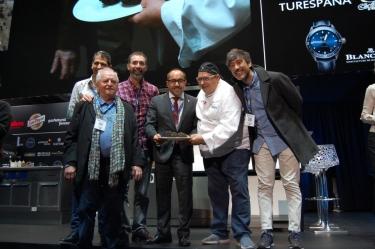 Subasta de la trufa negra de Soria en Madrid Fusión