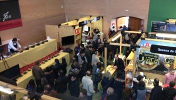 Aspecto del recinto ferial de la Feria de la Trufa de Soria en Abejar